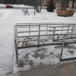 Ограждения пандуса из нержавеющей стали Вологда