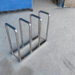 велосипедная парковка из нержаавеющей стали
