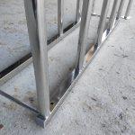 Парковка для велосипедов из нержавеющей стали