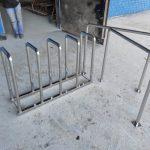 Парковка для велосипедов нержавеющая