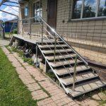 ограждение лестниц уличное